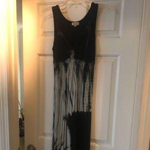 Women's long maxi dress.